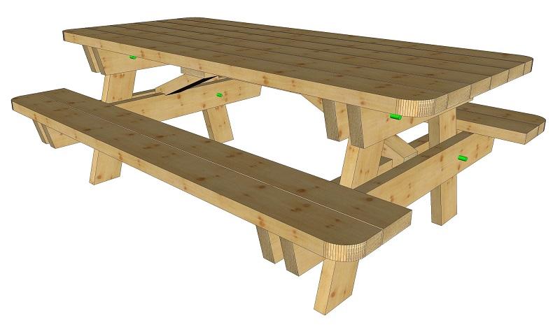 table rectangulaire conforama